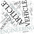Vehicle engineering Disciplines Concept