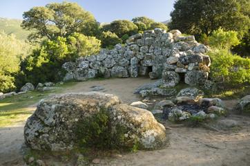 Sardegna, tomba dei Giganti di Is Concias, Quartucciu (CA)