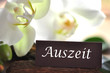 canvas print picture - Auszeit