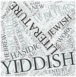 Yiddish literature Disciplines Concept