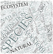 Conservation biology Disciplines Concept