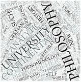 Continental philosophy Disciplines Concept poster