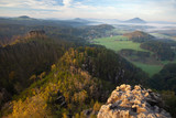 morning in the rocks of Bohemian Switzerland