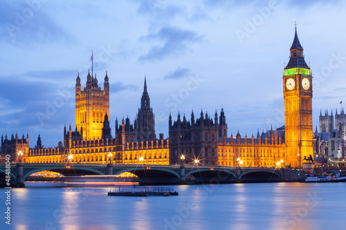 Big Ben and Westminster Bridge London