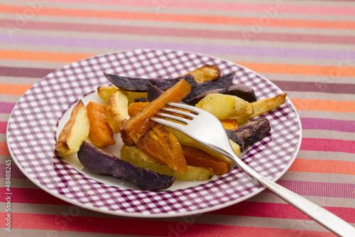 frites tricolores