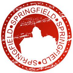 Stamp - Springfield, USA