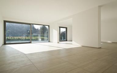 grande appartamento moderno vuoto