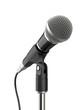 Leinwanddruck Bild - Microphone