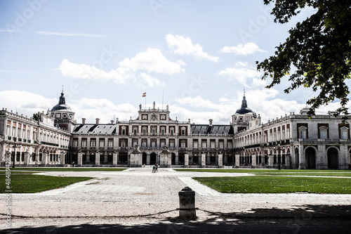 The Royal Palace of Aranjuez. Madrid (Spain)