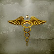 Golden Caduceus, old-style