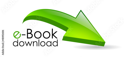E-book download symbol