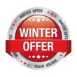 winter offer discount red button