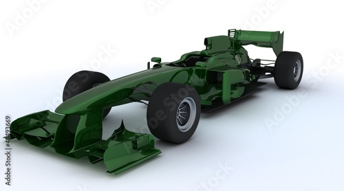 Generic open wheeled racing car