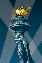 Statue of Liberty Torch.
