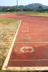 old run track