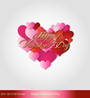 eps Vector image: Happy Valentine's Day