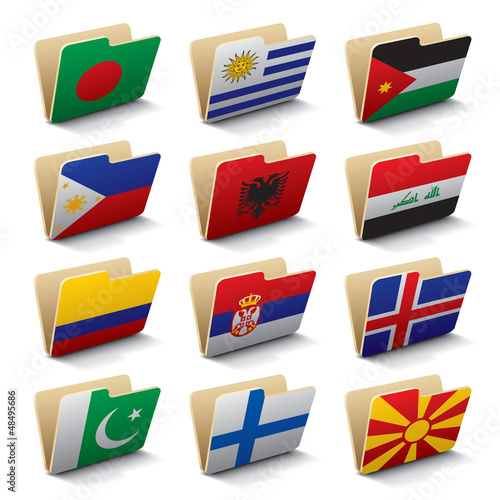 World folders icons 5