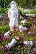 Gartenensemble für die Osterzeit