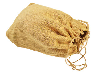 Cloth bag with drawstrings