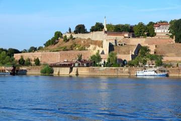 Belgrade fortress - Kalemegdan. Serbian landmark.