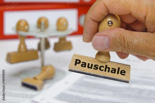 Pauschale pauschal