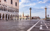 Piazza San Marco at sunrise