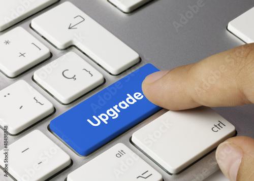 Upgrade keyboard key. Finger