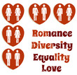Diversity, love, couples