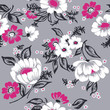 Seamless Floral Background Beautiful Set - for your design