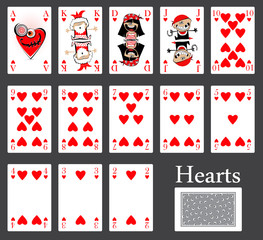 hearts cards casino