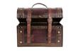 Ajar vintage bag brown color