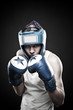 Strong boxer