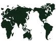 WORLD MAP GRASS