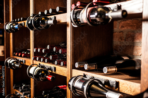 Canvas Bar Wine cellar