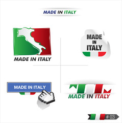étiquetes made in italy