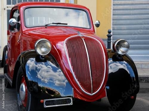 Poster Oude auto s Balilla