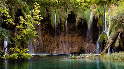 Waterfall Plitvicka