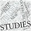 Childhood studies Disciplines Concept