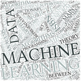 Machine learning Disciplines Concept