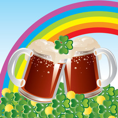 Vector of St. Patrick's Day celebration