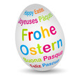 Osterei - Frohe Ostern (DE)
