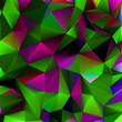 Shiny geometric in purple|green color. EPS 8