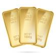 Three gold bars. - 48515681