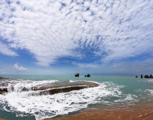 Koh Samui coast after the big flooding