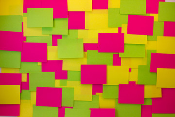 Post-it notes of different colors 2