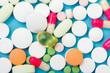 Drugs Closeup Healthcare Background