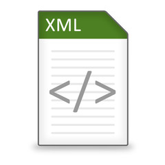 Dateityp Icon XML