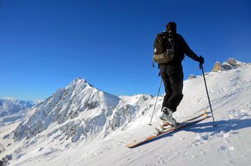 Scialpinismo sulle Alpi