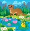 River fauna theme image 1