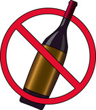 Sign prohibiting drinking alcohol on the streets - 2